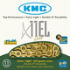 KMC X-11 EL Bicycle Chain 11-fold gold